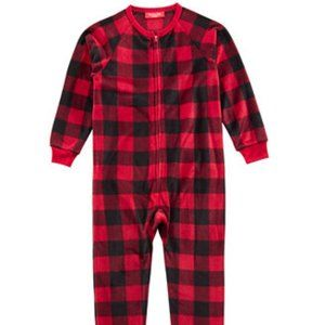 Macy's Family Pajamas Matching Buffalo Check Kids